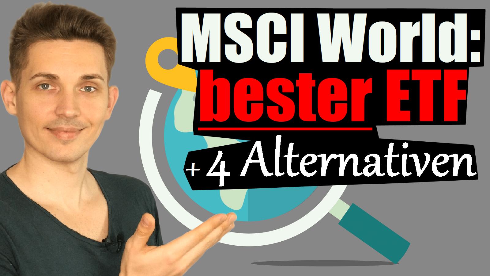 bester MSCI World ETF
