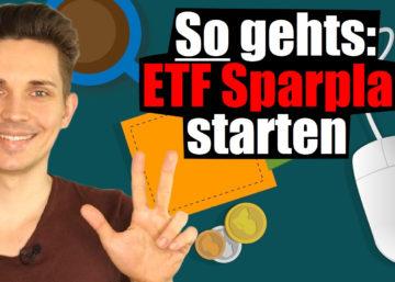ETF Sparplan einrichten