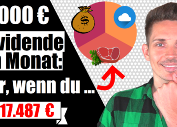 Dividenden Depot Portfolio jeden Monat 1000 Euro